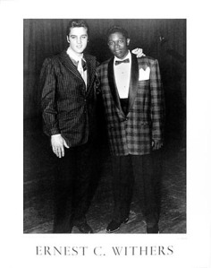 Elvis with BB King, taken by Ernest C. Withers, photographer of civil rights movement