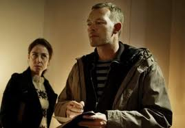 Jan Meyer and Sarah Lund in The Killing