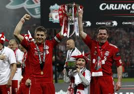 Liverpool Carling Cup celebrations