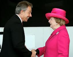 Blair and Thatcher
