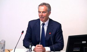 Tony Blair at Leveson
