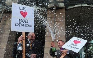 Bob Diamond and the Champagne