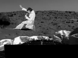 Maybe Elvis is on Mars...