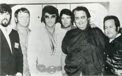 Elvis with the Memphis Mafia