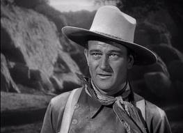 John Wayne as the Ringo Kid