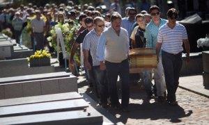 Santa Maria funeral