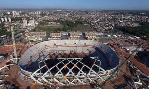 Arena da Amazonia stadium in Manaus, Brazil
