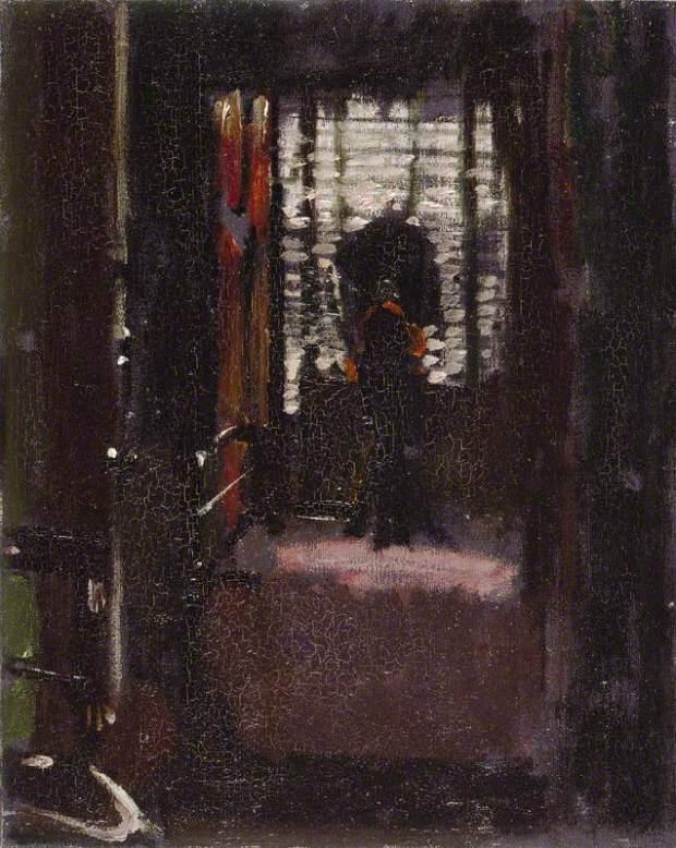 Sickert, Walter Richard, 1860-1942; Jack the Ripper's Bedroom