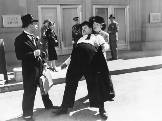 block-heads-1938-001-james-finlayson-stan-laurel-oliver-hardy-tuxedo-bfi-00n-y2g